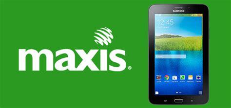 Samsung Galaxy Tab 3v Malaysia maxis menawarkan plan data untuk samsung galaxy tab 3v