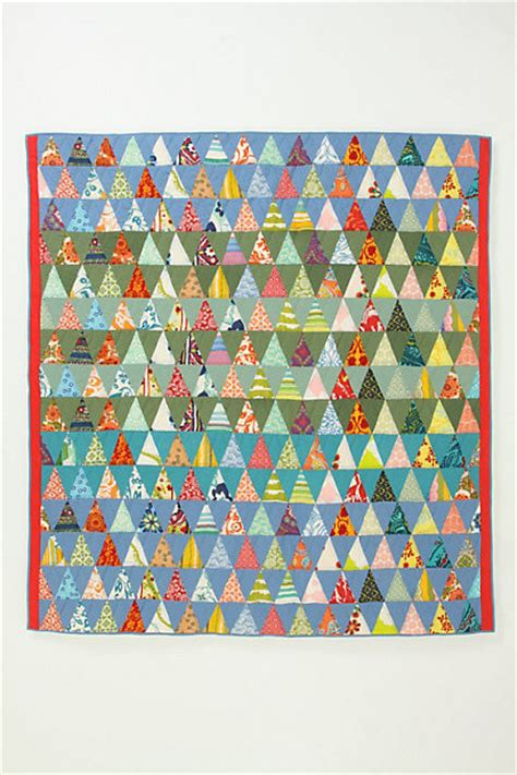 Apc Quilts by A P C Semiologie Quilt Colour Triangles Eclectic