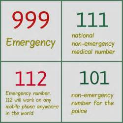 Non Emergency Number Think Do You Really Need To Call 999