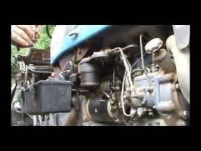 Bleeding Fuel System Kubota Diesel How To Bleed Kubota Fuel Injector Lines How To Save