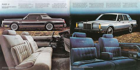 1982 lincoln continental vi 1982 lincoln continental vi brochure
