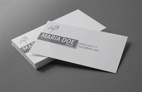 Free Template For Personal Business Cards by 50 Best Free Business Card Templates 2014