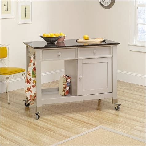 sauder kitchen furniture sauder sauder original cottage mobile kitchen island in