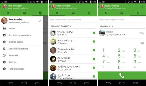 hangout app android hangouts gets a update including voice integration updated ars technica