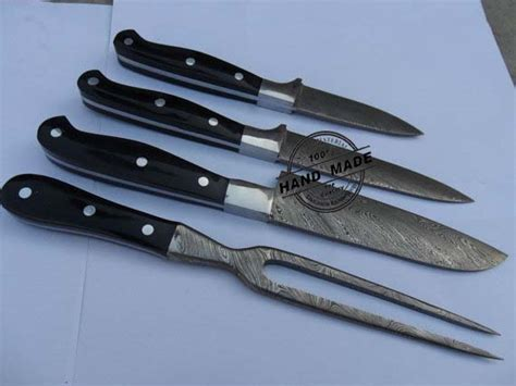100 forged damascus steel chef knife 13 4 damascus chef knives set selling