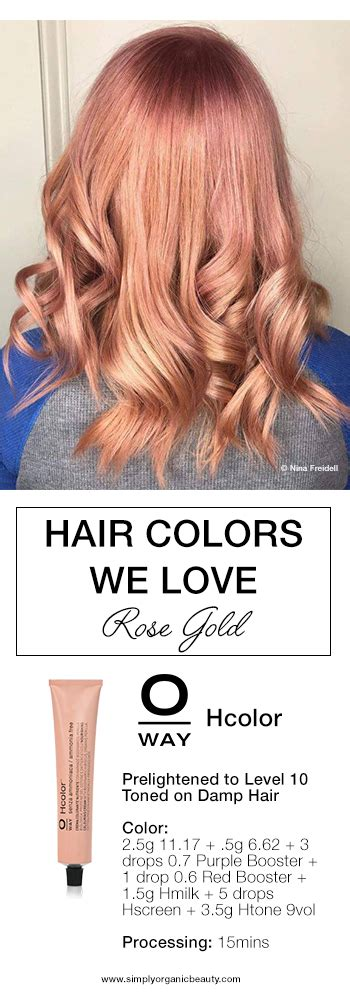 hair color formula trending hair colors this week simply organic beauty