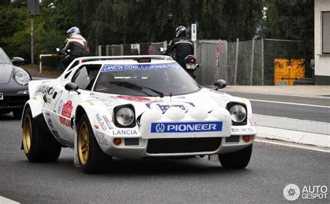 Lancia Stratos 2013 Lancia Stratos Hf Captured At Nurburgring Gtspirit