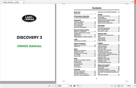land rover  discovery   owner manual auto