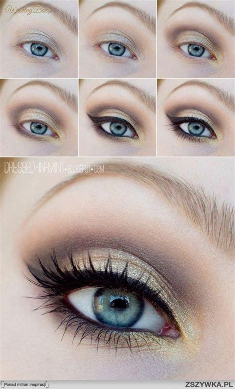 younique tutorial eyeliner gorgeous neutral shades with younique pigments in