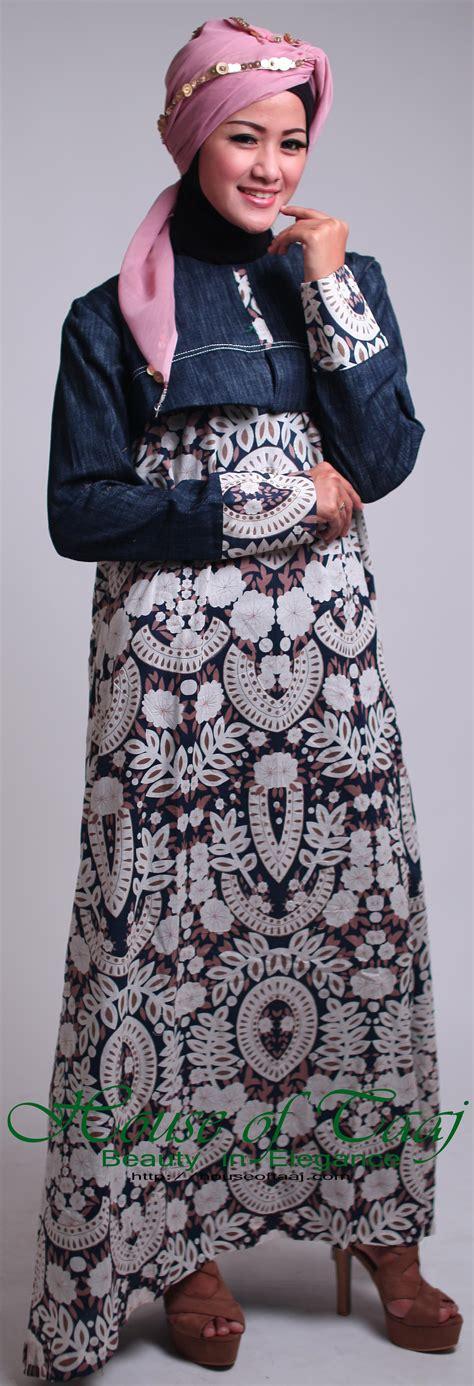 Gamis Vania 07 Katun abaya gamis katun untuk ibu butik baju dan menyusui terima jahit baju muslimah
