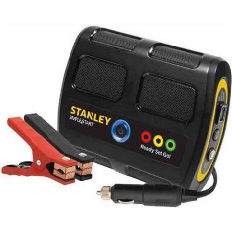 stanley airpressor and battery charger stanley simple start lithium ion jump starter battery