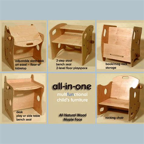 Candu Kid S Furniture All In One Chair Desk And Storage