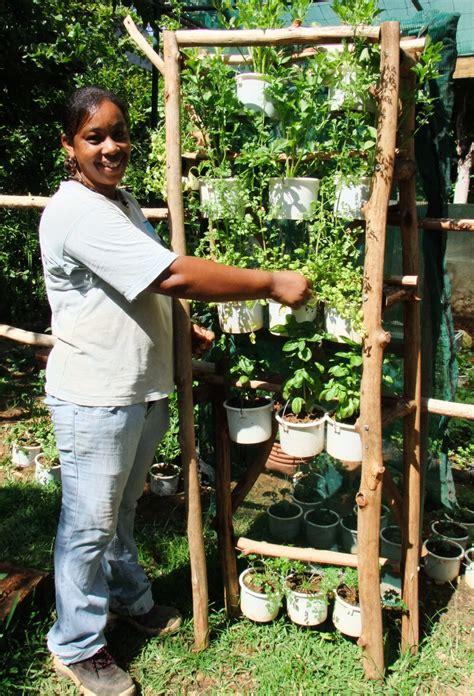Portable Vertical Garden Islandlife The Vertical Garden A Solution To The
