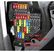 Audi S3 / A3 Fuse Box Location