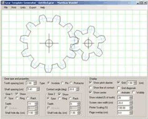 gear pattern generator gear template generator patterns for steunk items