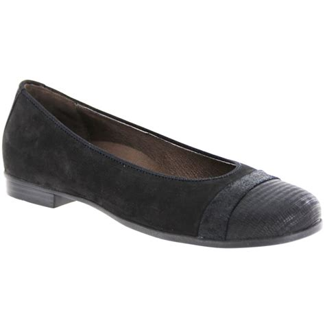 waldlaufer womens hamiki black slip on shoes 328004 311 001