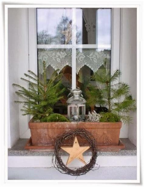 Fensterbank Draussen by Die Besten 17 Ideen Zu Weihnachtsdekoration F 252 R Drau 223 En