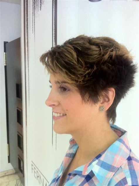 cortes de cabello  mujer semi hongo corte de pelo