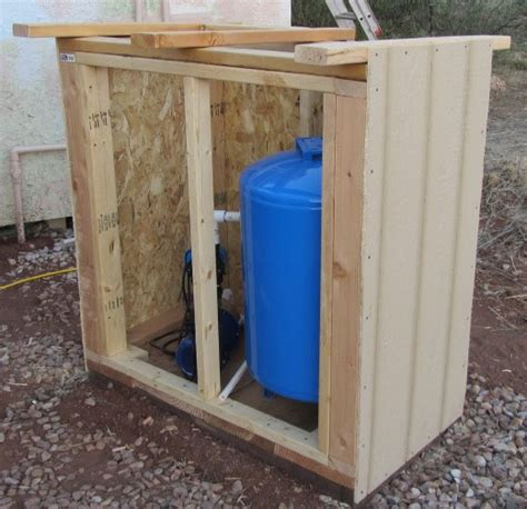 bages   build  pump house shed