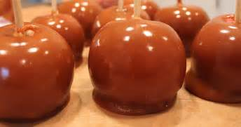 caramel apples recipe dishmaps
