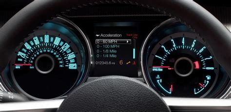 mustang digital speedometer image gallery mustang speedometer