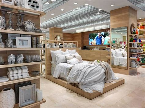 shop bedding new zara home store milan interior visual merchandising