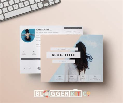 free electronic press kit template two page media kit template horizontal press kit