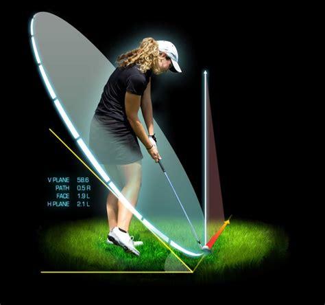 d plane swing launch monitor golf ball tracking golf simulators