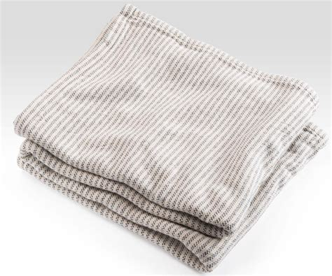 Striped Coverlet Ticking Stripe Coverlet Slate By Brahms Mount