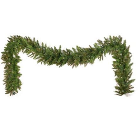 9 fraser fir prelit garland plymouth nursery