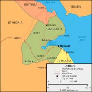 Djibouti Africa Map by Djibouti Map And Satellite Image