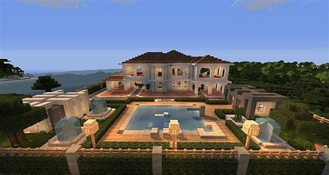 build a mansion hollywood style minecraft house minecraft building inc