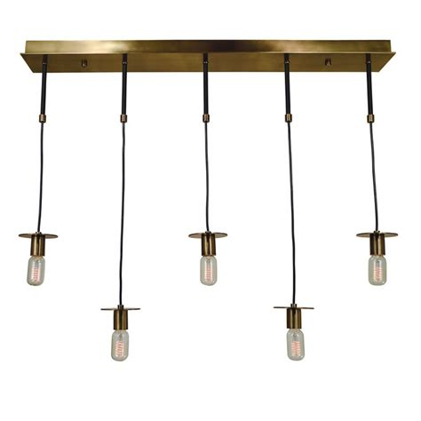 minimalist chandelier suspended cord minimalist linear chandelier shades of light
