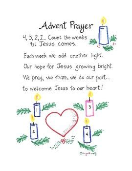 christmas prayer in the school advent prayer with actions by ingrid s teachers pay teachers