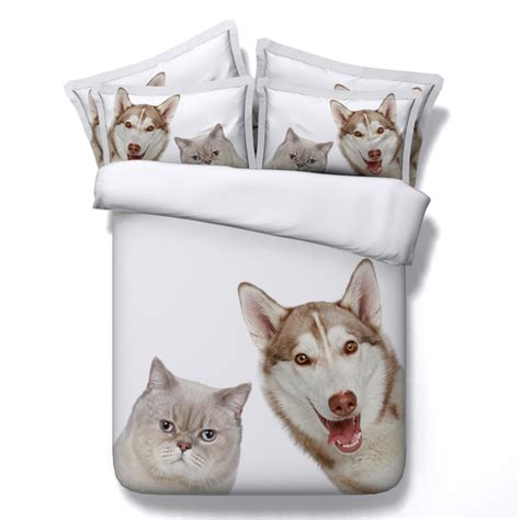 dog bed sheets bedsheet popular dog print bed sheets buy cheap dog print