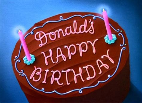 donalds happy birthday   internet animation