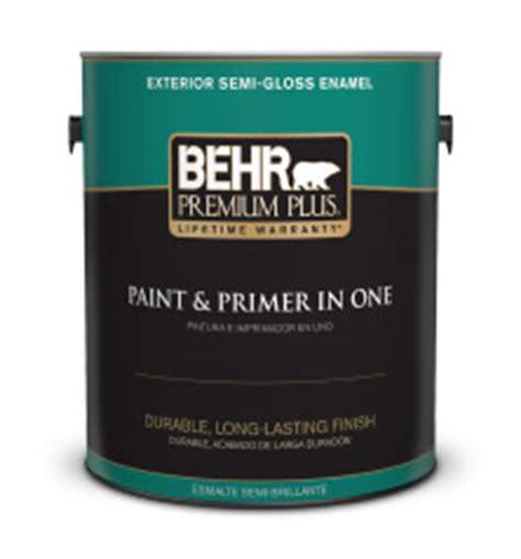 exterior semi gloss enamel paint behr premium plus 174 behr
