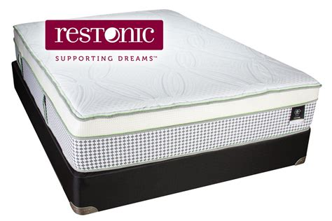 Restonic King Size Mattress by Restonic 174 Hybrid Signature Gresham King Mattress