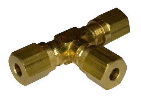 Fitting Plumbing by 4mm Compression Equal Brass Plumbing Fittting Ebay