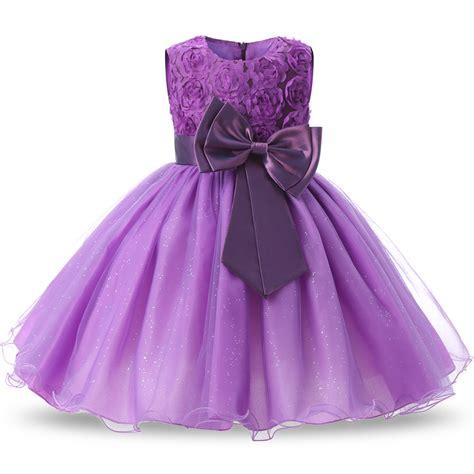 Dress Pricill Kid Purple wear costume for children