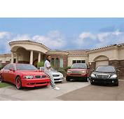 Larry Fitzgerald  Car Collection Celebrity Carz