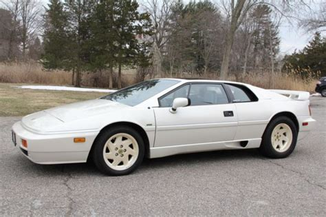 old car repair manuals 1989 lotus esprit parking system 1988 lotus esprit 21 050 miles white coupe 2 2 liter manual for sale lotus esprit 1988 for