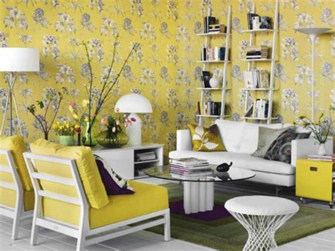 yellow decor ideas light gray and yellow color scheme calm fall decorating ideas