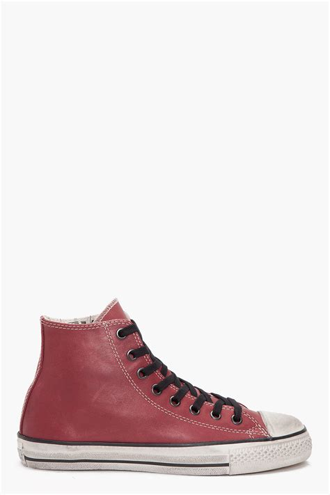 chuck leather sneakers converse chuck leather hi sneakers in for