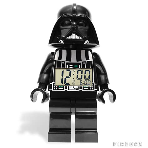 Lego Darth Vader Minifigure darth vader lego minifigure alarm clock buy at firebox