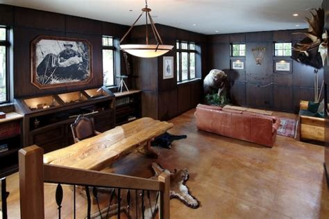 50 Masculine Man Cave Ideas Photo Design Guide Next Luxury Manly House