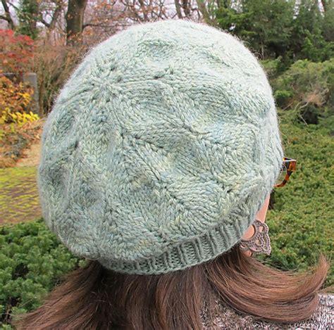 knitting pattern beret beret knitting patterns in the loop knitting