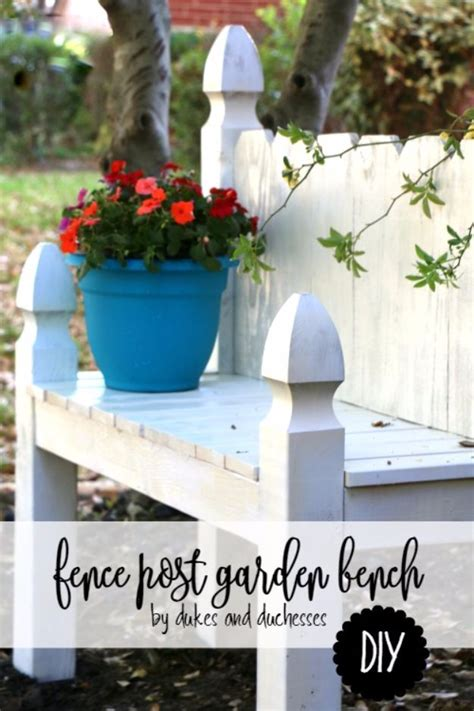 cool ways   fence posts