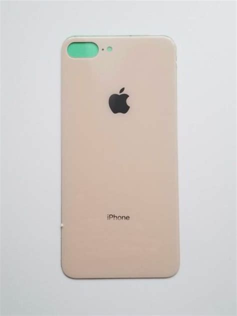 back glass cover battery door replacement for apple iphone 8 plus gold ebay