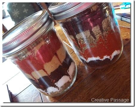 bbq rub in a jar recipes in jars yum pinterest